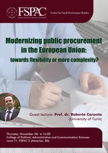 2015-10-19 - Conferinta AP Modernizing public procurement